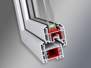 System okien pcv aluplast ideal 4000