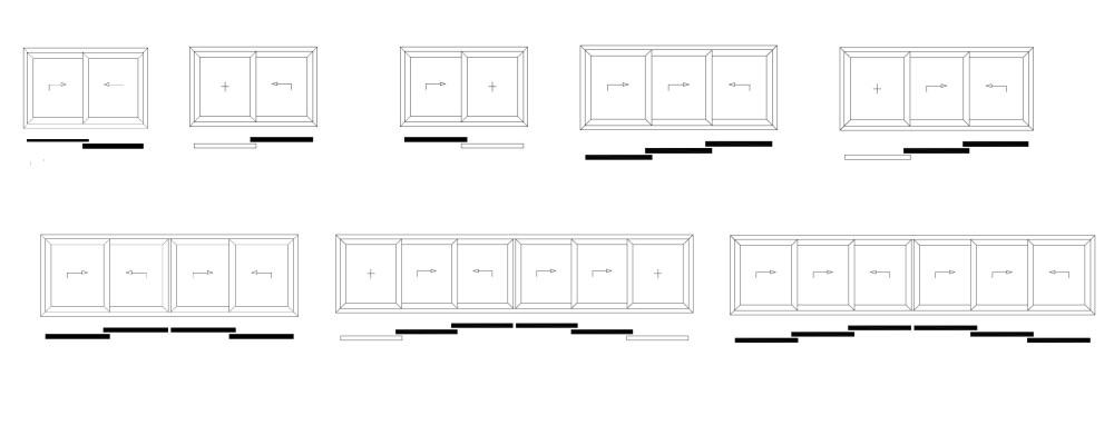 Balkon- Hebeschiebetüren