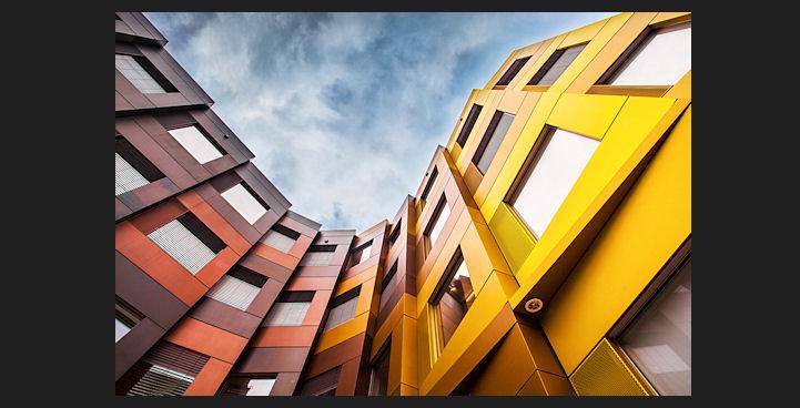 Fibre-cement facades