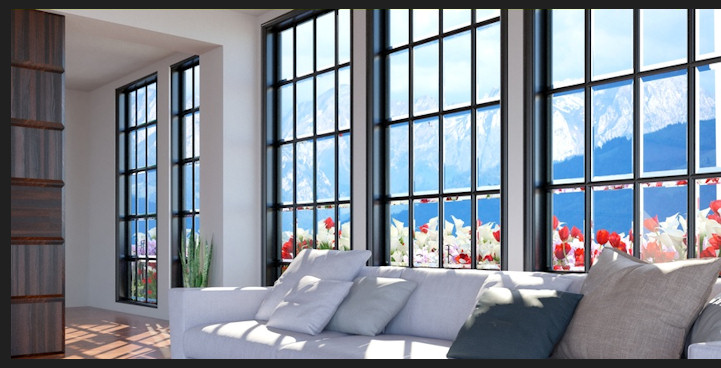 English windows, french windows, dutch windows
