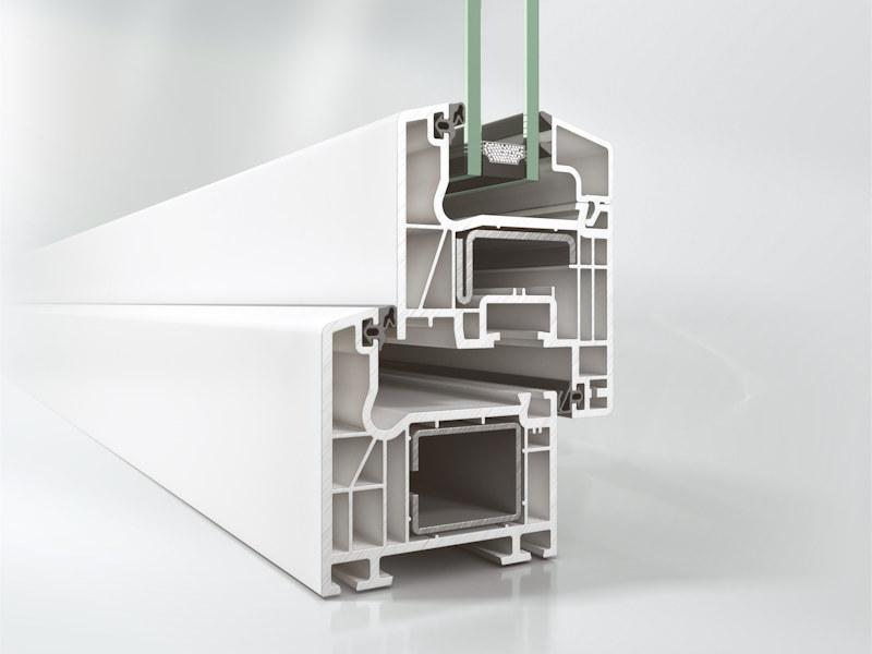 System okien pcv Schüco Corona CT 70 AS Classic S